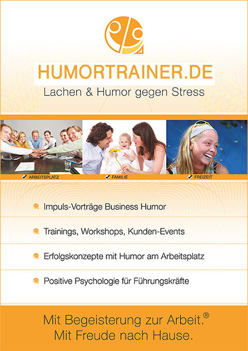 Rollup Humortrainer Messe